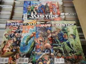 Justice League New 52 #1-5