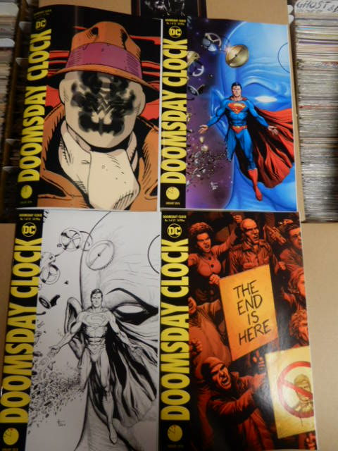 Doomsday Clock Early Release 11 57pm Nov 21 Jc S Comics N More